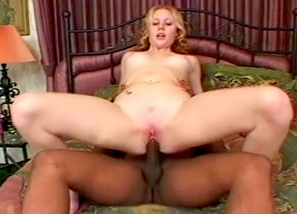 Cherry Poppens' Rides a Big Black Cock