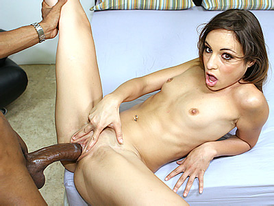 Amber Takes Black Cock Stuffing in her Cooze